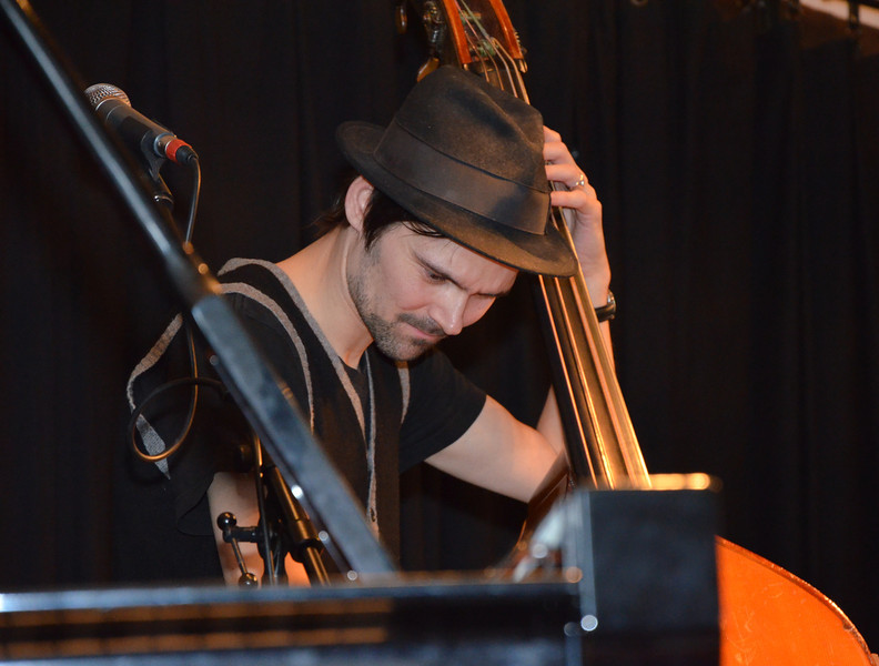 Nicolai Munch-Hansen i Holbæk Jazzklub 4. marts 2012