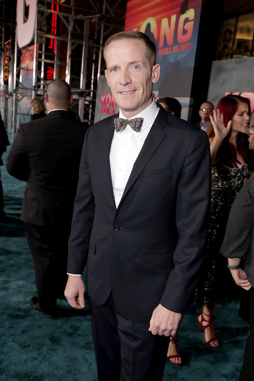 """. Marc Evan Jackson seen at Warner Bros. Pictures and Legendary Pictures Present the Los Angeles Premiere of \""""Kong: Skull Island\"""" at Dolby Theatre on Wednesday, March 8, 2017, in Los Angeles. (Photo by Eric Charbonneau/Invision for Warner Bros./AP Images)"""