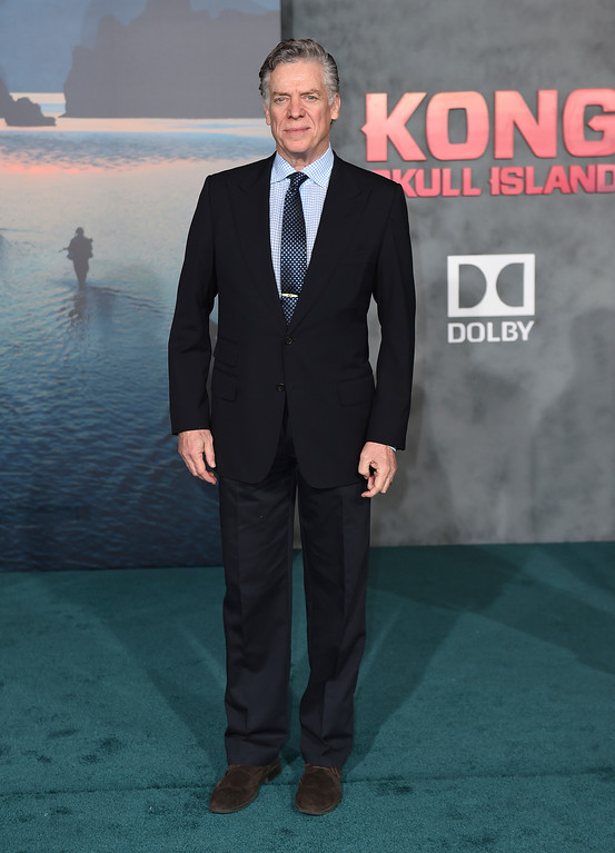 """. Christopher McDonald arrives at the Los Angeles premiere of \""""Kong: Skull Island\"""" at the Dolby Theatre on Wednesday, March 8, 2017. (Photo by Jordan Strauss/Invision/AP)"""