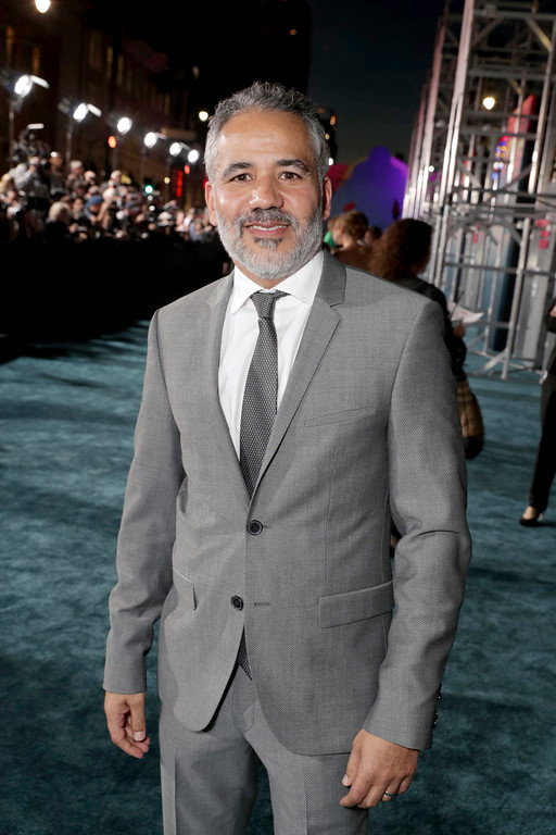 """. John Ortiz seen at Warner Bros. Pictures and Legendary Pictures Present the Los Angeles Premiere of \""""Kong: Skull Island\"""" at Dolby Theatre on Wednesday, March 8, 2017, in Los Angeles. (Photo by Eric Charbonneau/Invision for Warner Bros./AP Images)"""