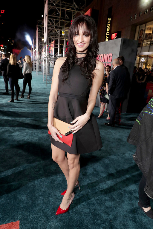 """. Ruby Modine seen at Warner Bros. Pictures and Legendary Pictures Present the Los Angeles Premiere of \""""Kong: Skull Island\"""" at Dolby Theatre on Wednesday, March 8, 2017, in Los Angeles. (Photo by Eric Charbonneau/Invision for Warner Bros./AP Images)"""