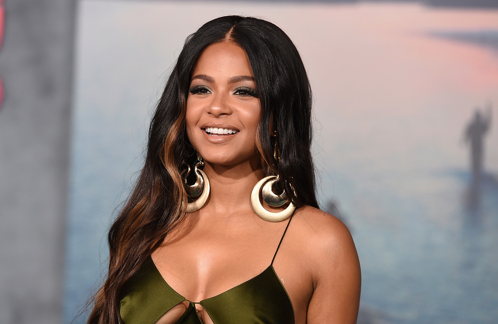 """. Christina Milian arrives at the Los Angeles premiere of \""""Kong: Skull Island\"""" at the Dolby Theatre on Wednesday, March 8, 2017. (Photo by Jordan Strauss/Invision/AP)"""