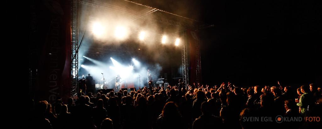 Konsert Kvelertak Etnemarknaden 201