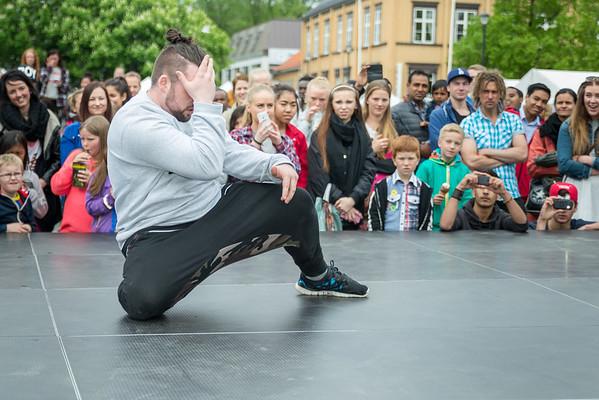 Raw-dancestudio torvet (25 mai 2014)