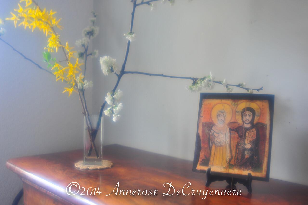 Taizé-Ikone im Sonnenhof