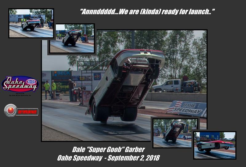 Dale Garber, Oahe Speedway, September 2018