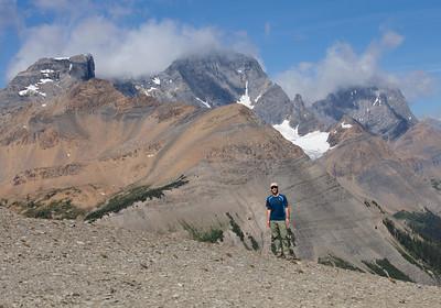 Andrew at Numa Pass