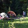night 1 camp at Buck Horn