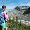 Approaching Yoho Glacier