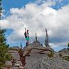 7,053' summit; the mighty Midgley!