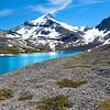 Wilcox Lake and Mt. Nigel