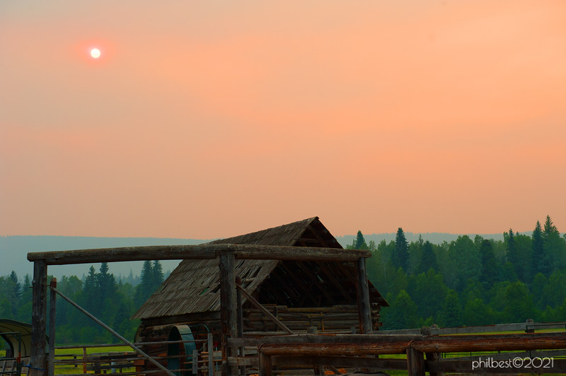 Our home for the Wells Gray week