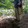 Riondel historic Tam O'Shanter waterline hike Bluebell Mountain