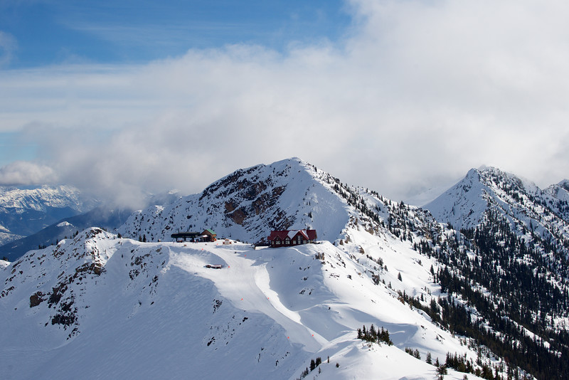 Eagle's Eye Restaurant, Kicking Horse Mountain Resort, Golden, British Columbia