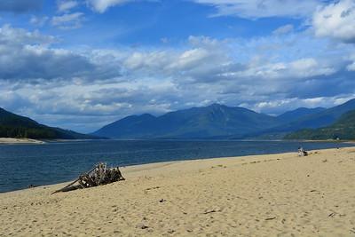 Beach at McDonald Creek