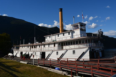 The Moyie, beautifully restored sternwheeler.