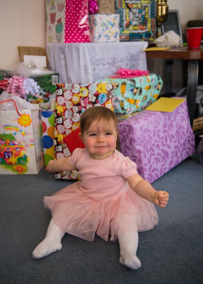 Kora's First Birthday Party 12-16-17