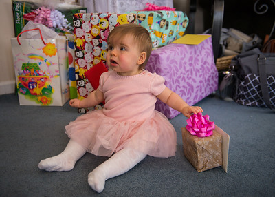 Kora's First Birthday Party 12-16-17