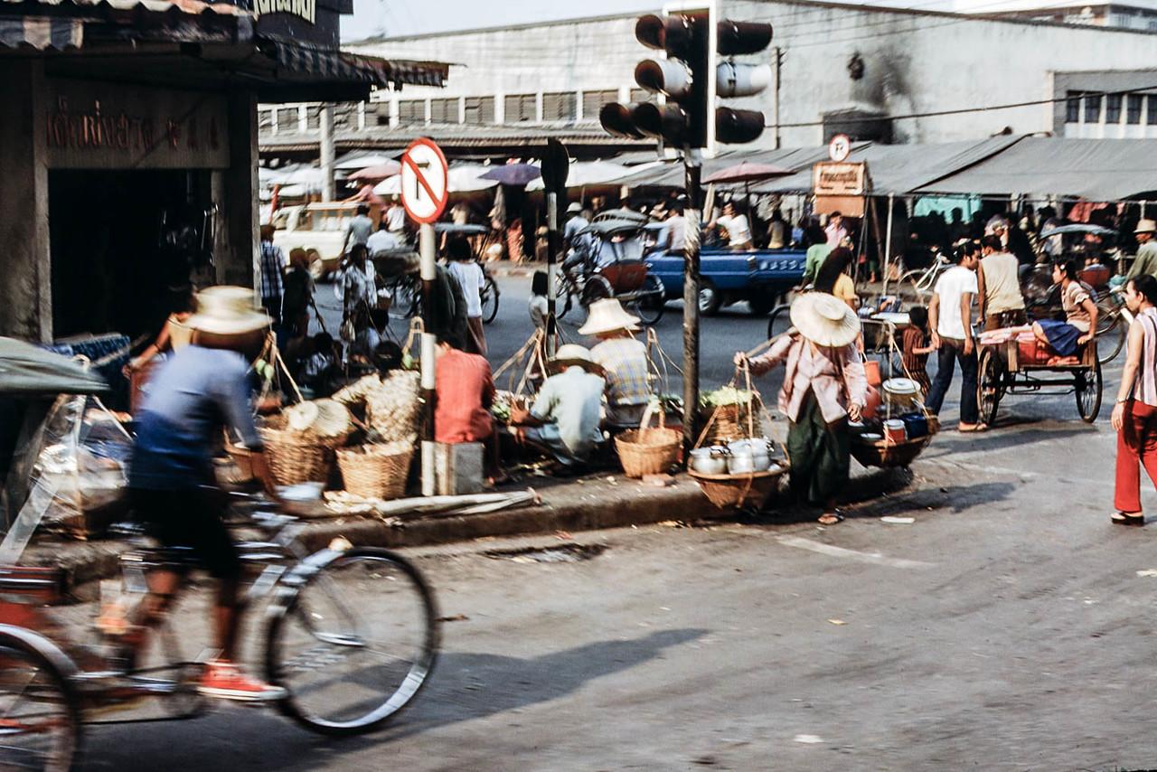 Market, Korat, Thailand, 1974