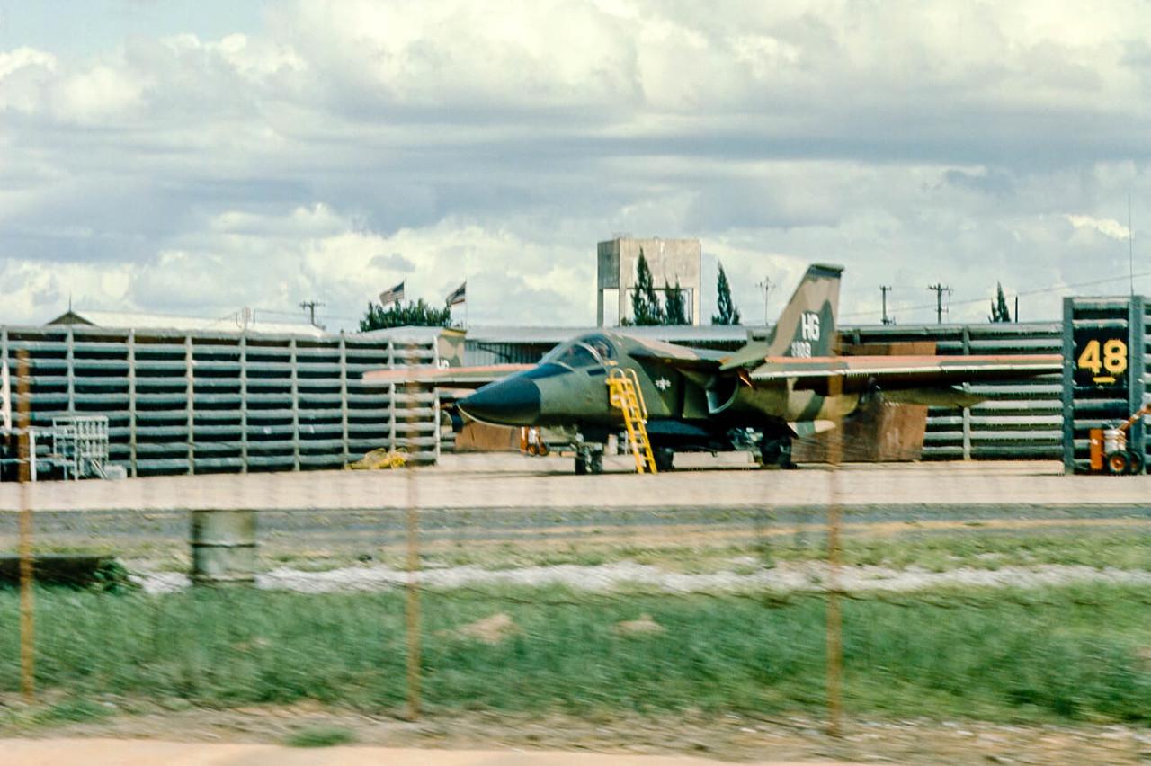 FB-111 at Korat RTAFB, Thailand, 1974