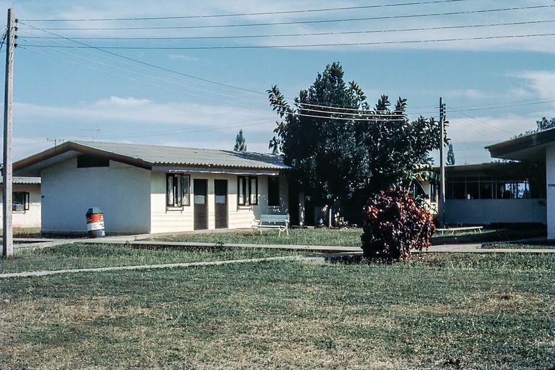 Bachelor Officer Quarters Area, Korat Royal Thaii AFB, 1974