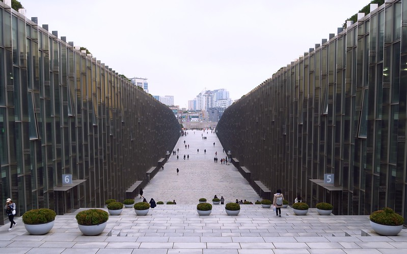 Ewha Womans University in Seoul can be visited for free.