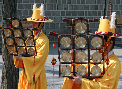 Palace Changing Guard Percussion Section
