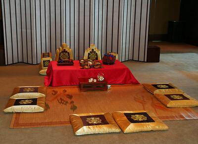 Korean Wedding Setup at Grand Hyatt