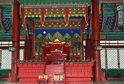 Inside Palace Building