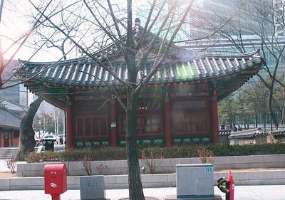 Downtown Seoul Ancient Building