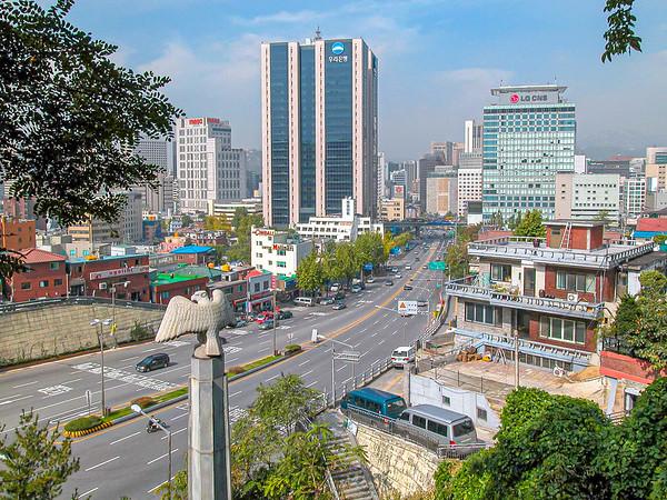 Namsan Park - Seoul Tower
