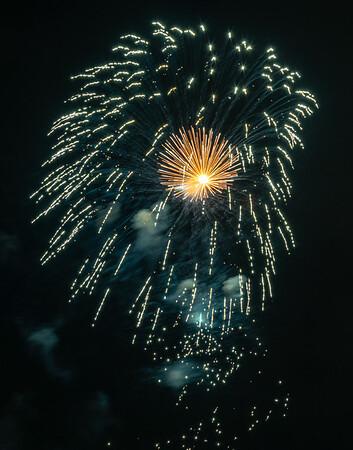 Pentaport Rock Festival Fireworks