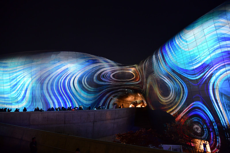 Dongdaemun Design Plaza (DDP) Light Show