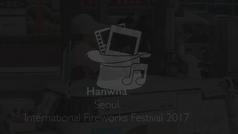 Hanwna - Seoul International Fireworks Festival 2017