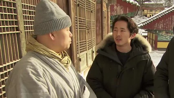 Conan, Steven Yeun Visit Buddhist Temple