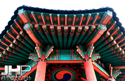 """The Roof of Anseong"", Anseong, South Korea, 2008 Print KOR3-428-014"