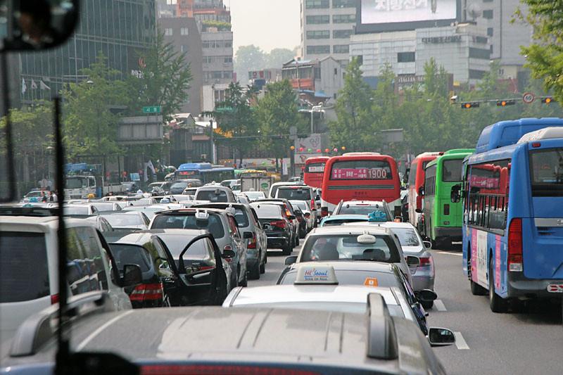 Traffic in Seoul