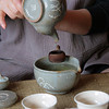 Preparing Korean Green Tea