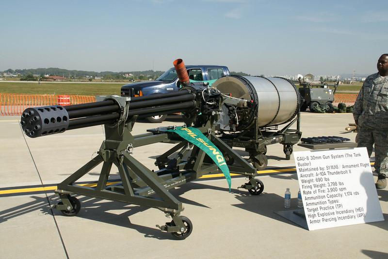Gun for the A10 Thunderbolt