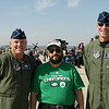 The 7th Air Force Commanders General Wood and General Keltz and me