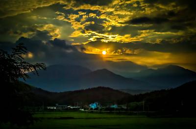 2014-08-07_Seorak_farm_sunset-2725