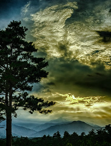 2014-08-07_Naksan-sa_sunset_HDR-2686-