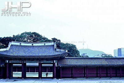"""Old vs. New"", Seoul, South Korea, 2009 Print KOR3B83-038"