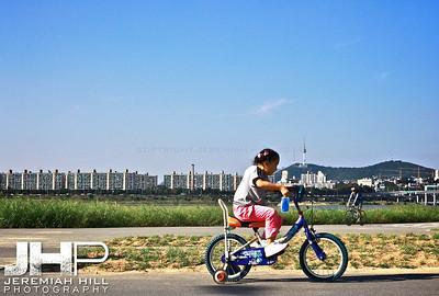 """Seoul Rider"", Seoul, South Korea, 2009 Print KOR3B919-056"
