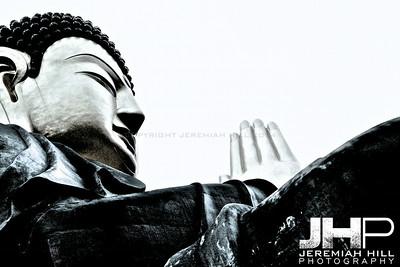 """Bukhansan Buddha"", Seoul, South Korea, 2008 Print KOR31122-047"