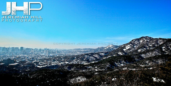 """Winter at Seoul's Edge"", Seoul, South Korea, 2010 Print KOR3C116-035"
