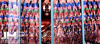 """Buddha Surrounded in Color"", Seoul, South Korea, 2010 Print KOR3C52-036V2"