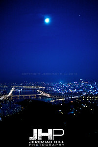 """Seoulscape Night #1"", Seoul, South Korea, 2009 Print KOR3B94-009"