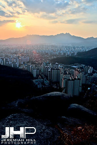 """Seoul from the North #1"", Seoul, South Korea, 2009 Print KOR321-206"