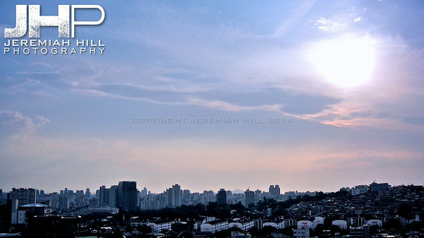 """Seoul Cityscape from Keyonggidan #1"", Seoul, South Korea, 2010 Print KOR3C626-070"